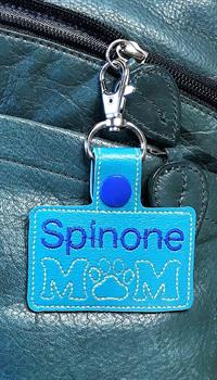 Leather Tab - Spinone Mom