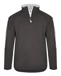 SCOA 1489 Badger Sideline Fleece Quarter Zip Pullover
