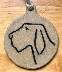 Spinone Ornament - Brown
