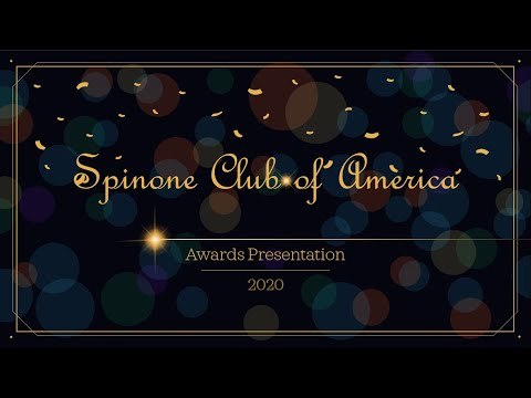 Spinone Club of America 2020 Awards